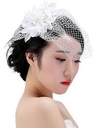 voilette mariage la vogue chapeau mini bibi fleur voilette pince femme cheveux