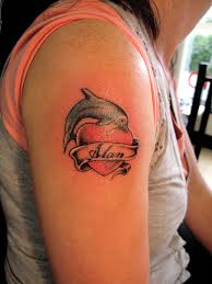 dolphin tattoos and designs page 10