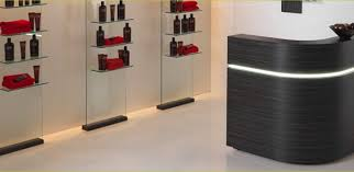 Hairdressers Reception Desk Salon Reception Desk Pertaining To Salon Reception Desks