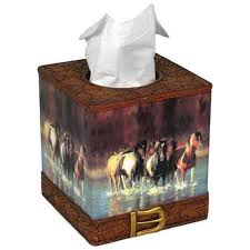 amazon com rivers edge products rush hour tissue box cover