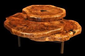 tree trunk coffee table decofurnish