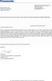 1316 bluetooth module cover letter 2 u0026 3 request for fcc class ii