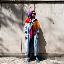 tehran streetstyle a project of identity and personal narrative
