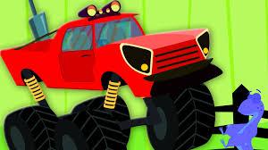 monster trucks videos on youtube the wheels on the monster truck nursery rhyme kids song children