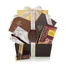 thank you gift basket chocolate gift basket thank you godiva