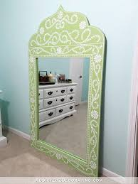 Hand Painted Love Anchors The - diy hand painted framed full length mirror
