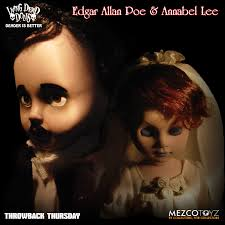 annabel lee by edgar allan poe throwback thursday u2013 living dead dolls edgar allan poe u0026 annabell lee