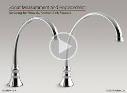 instructional video spout measurement and replacement for