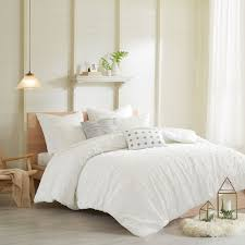 urban habitat cotton jacquard duvet cover set ebay