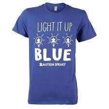 autism speaks light it up blue light it up blue t shirt autism speaks