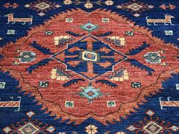 Red And Blue Persian Rug by 6 U00277