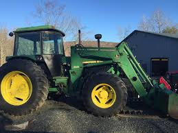 john deere 3155 tractor loader w cab 4x4 108hp for sale in