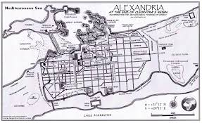 Ancient Map Of Greece by Map Of Alexandria Egypt At The End Of Cleopatra U0027s Reign