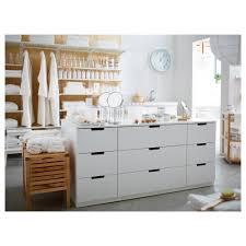 nordli chest of 9 drawers white 160x75 cm ikea