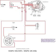 vespa gs wiring diagram vespa wiring diagrams schemi elettrici