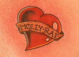 heart tattoo u2013 fabulous name banner design tattooshunter com
