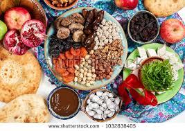 cuisine azerbaidjan traditional azerbaijan cuisine nowruz ภาพสต อก