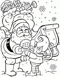 incredible attractive christmas coloring pages