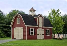 Two Story Workshop 12x20 Two Story Shed Inside Low Prices On Amishbuilt Backyard