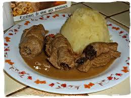 cuisiner escalope de veau escalopes de veau aux pruneaux chez vanda