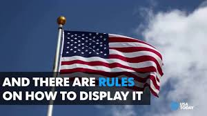 Backwards Us Flag Stars U0026 Stripes Basic Etiquette For The American Flag Youtube