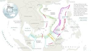 Map Of China And Surrounding Countries by The South China Sea Dispute Is Decimating Fish Stocks
