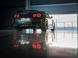 nissan supercar the revamped nissan gt r takes a steamy dip at spa francorchamps