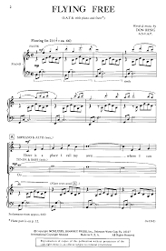 flying free satb by don besig j w pepper sheet