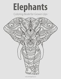 coloring pages for grown ups 321 best colouring elephants zentangles images on