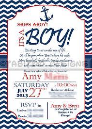 nautical baby shower invitations nautical baby shower invitations templates diabetesmang info