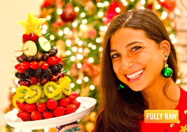 fullyraw edible christmas trees youtube
