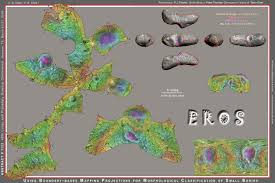 eros map lpsc handouts maps with constant scale boundaries