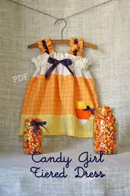 halloween candy candy corn dress baby toddler girls