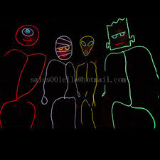 Led Halloween Costumes Compare Prices Neon Man Costume Shopping Buy Price