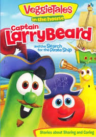 veggietales in the house captain larry beard and the search for