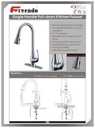 installing a kitchen faucet instructions faucet ideas