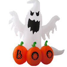 halloween inflatable ghost halloween snacks and buffet table decorations