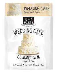 wedding cake gum wedding cake sugar free gum by project 7 products for