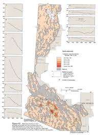 Map Of Arizona And California by Ha 730 C Basin And Range Aquifers Text