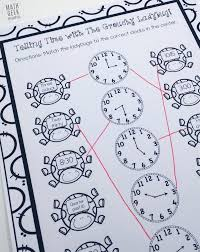 telling time with the grouchy ladybug free