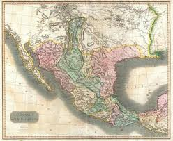 Colorado River Texas Map File 1814 Thomson Map Of Mexico And Texas Geographicus