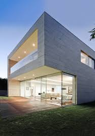 the aesthetic beauty of modern concrete home plans modern concrete