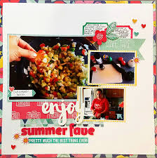 scrapbooking cuisine page ideas for scrapbooking your food