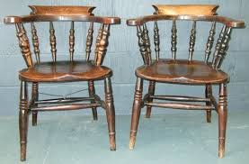 Antique Captains Chair Matched Pair Of 19th Century Captains Chairs Antiques Atlas