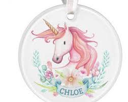 amazing unicorn ornament lovely decoration etsy