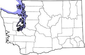 Blank State Map Washington Map Blank