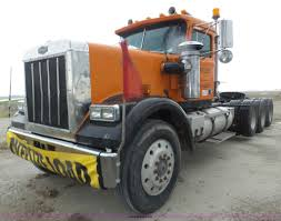 new volvo tractor trailers for sale 1984 volvo autocar at64fx semi truck item j8968 sold ap