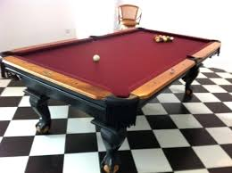 slate bumper pool table 7 foot slate pool table used image of slate bumper pool table for