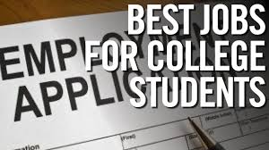 best jobs for college students highest paying part time jobs