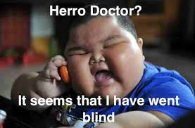 Funny Chinese Meme - fat chinese kid meme went blind 2 jpg fun